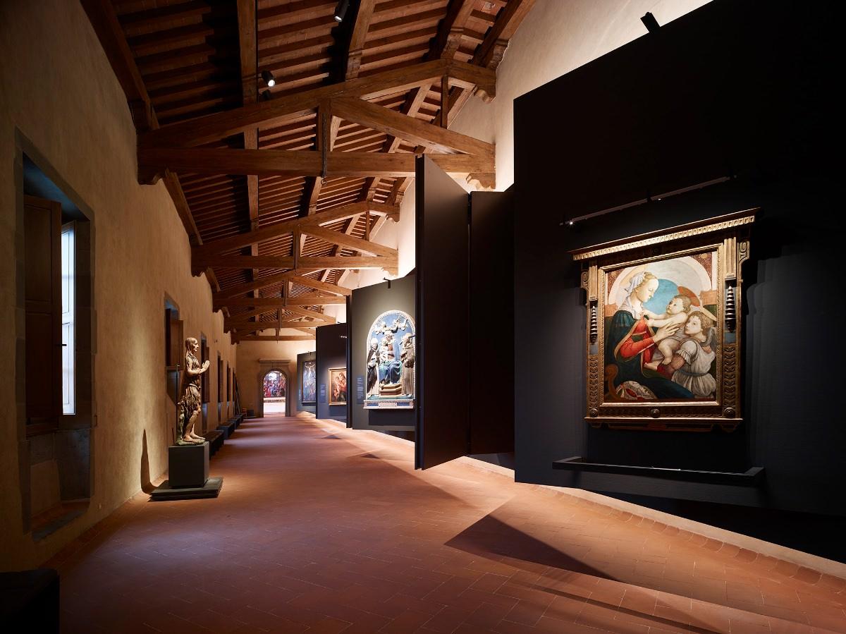 Ipostudio nuovo Museo degli Innocenti Firenze Pinacoteca del Museo degli Innocenti imagecredits foto Pietro Savorelli
