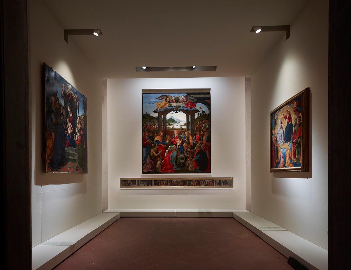Ipostudio nuovo Museo degli Innocenti Firenze Pinacoteca del Museo degli Innocenti, sala del Ghirlandaio imagecredits foto Pietro Savorelli