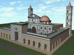 Moschea Firenze rendering