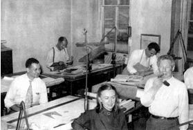 Anne Tyng e Louis Kahn 1947