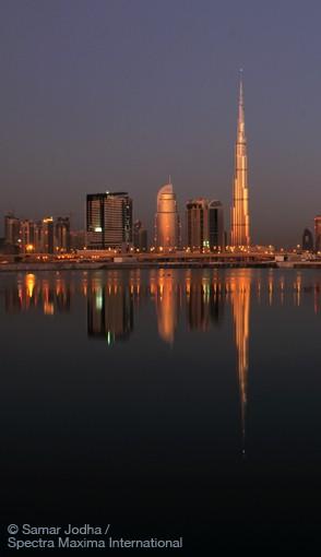Burj Khalifa – image Samar Jodha / Spectra Maxina Int