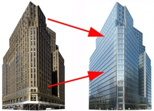 Ugliest Old Building Re-completed in 2010 – image Curbed NY
