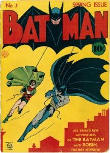 """Batman"" #1, Spring 1940, cover"