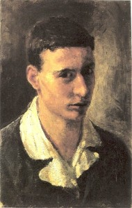 Autoritratto 1938 – image courtesy Archivio Cattaneo