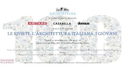 Riviste architettura italiana giovani casabella for Giornale architettura
