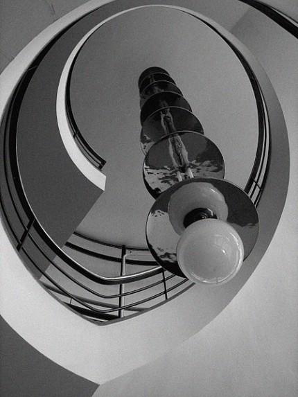 De La Warr Pavilion main stairwell imagecredits Brian Hession CC BY 2.0