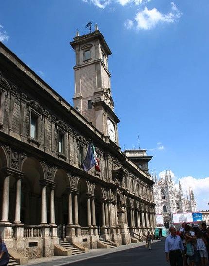 Palazzo dei Giureconsulti a Milano imagecredits Giovanni Dall'Orto CC-PD