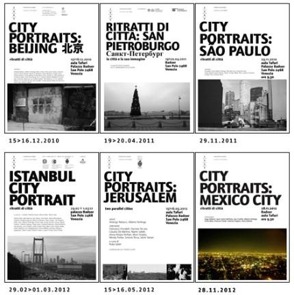 Ritratti di città 2010-2012