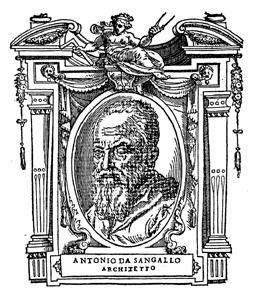 Vasari Antonio da Sangallo il Giovane imagecredits PD-Art