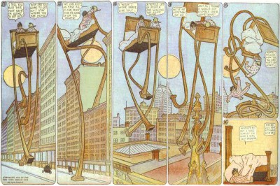 W McCay Little Nemo 1908 imagecredits CC-PD