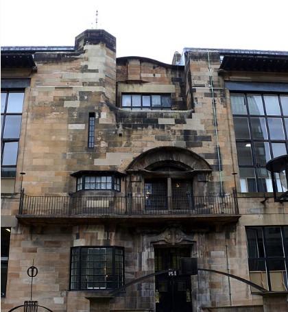 Charles Rennie Mackintosh's Glasgow School of Art 1897-1909 imagecredits Ad Meskens CC-BY-SA-3.0