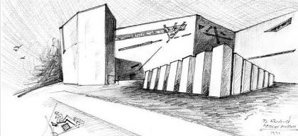 Libeskind schizzo Jewish Museum 1990