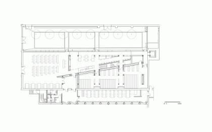 Rebecchini pianta Biblioteca Ferrara