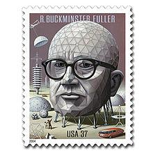 Buckminster Fuller stamp USA