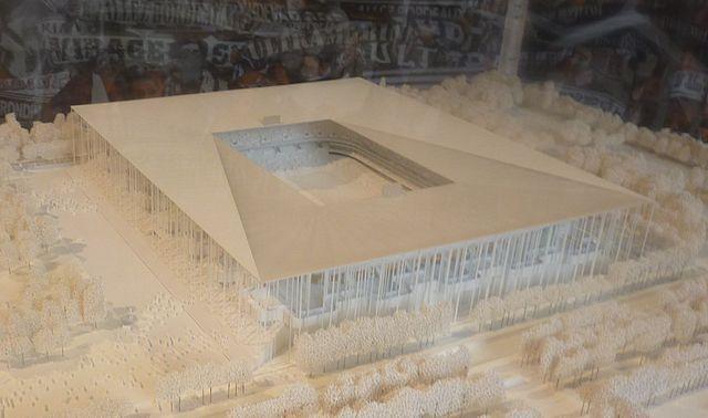 Herzog & de Meuron maquette Grand stade Bordeaux imagecredits Lucas33380 CC BY-SA 3.0