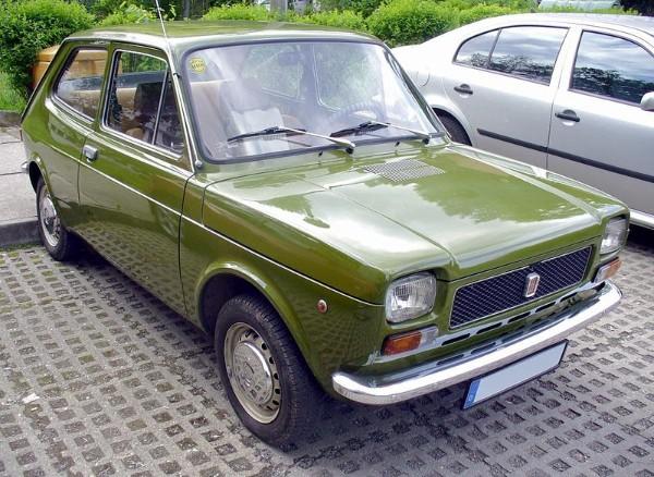 Pio Manzù Fiat 127 prima serie 1971 imagecredits Thomas doerfer CC BY-SA 3.0