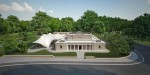 Z Hadid Serpentine Sackler Gallery model imagecredits Zaha Hadid Architects