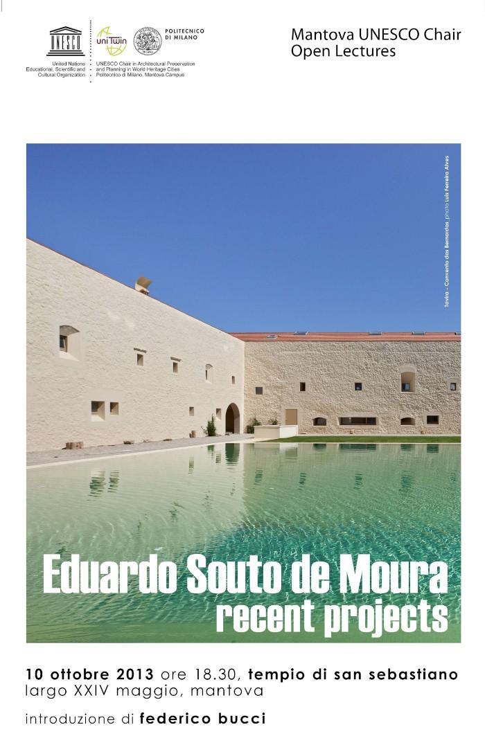 locandina Souto de Moura Mantova