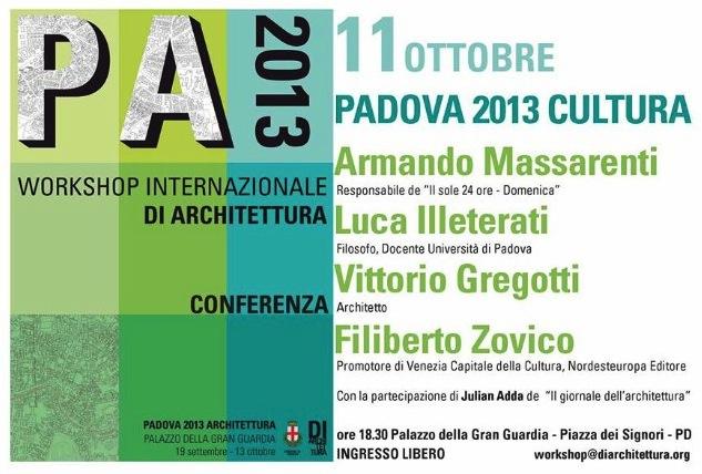 Padova Cultura 2013