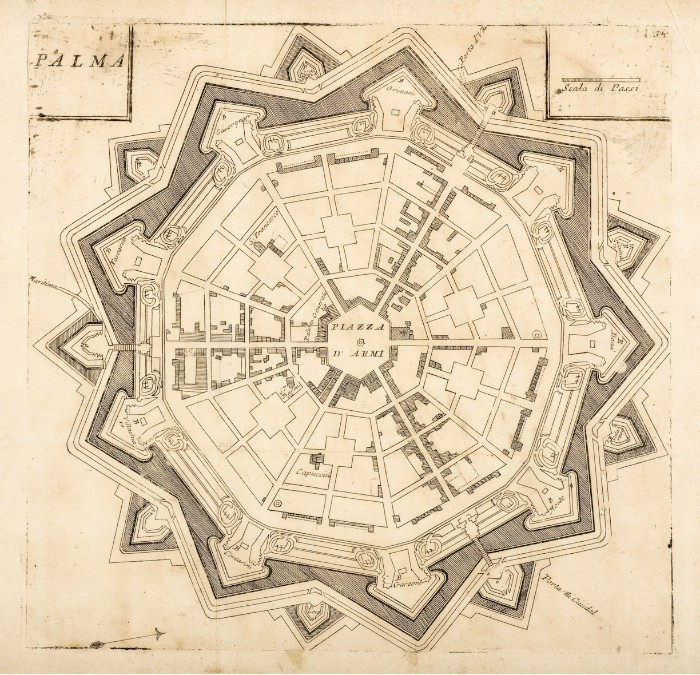 Palmanova Coronelli 1708