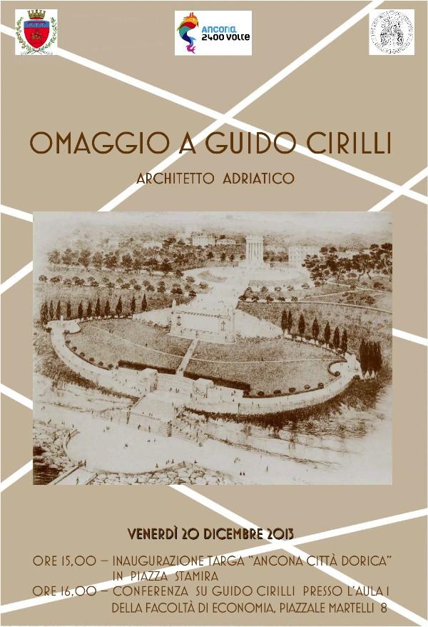 locandina Cirilli Ancona