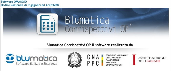 Blumatica software Corrispettivi OP ® imagecredits blumatica.it