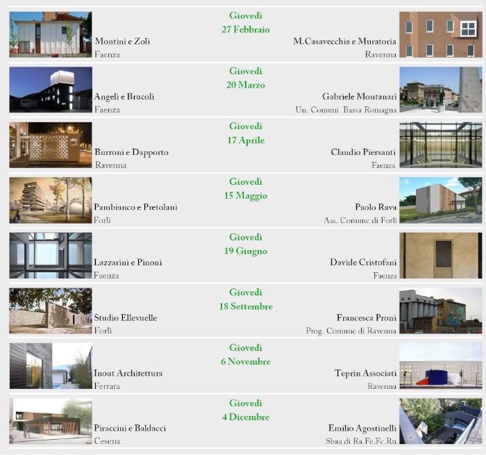 Calendario i 16 Ravenna