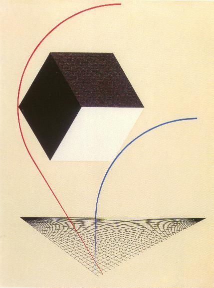 El Lissitzky Proun 1925 ca imagecredits PD