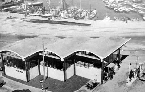 BBPR stazione Aquila 1953 oggi Stazione Rogers imagecredits stazionerogers.eu