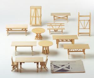 Enzo Mari, Proposta per un'autoprogettazione (modellini), 1973 imagecredits triennale.org