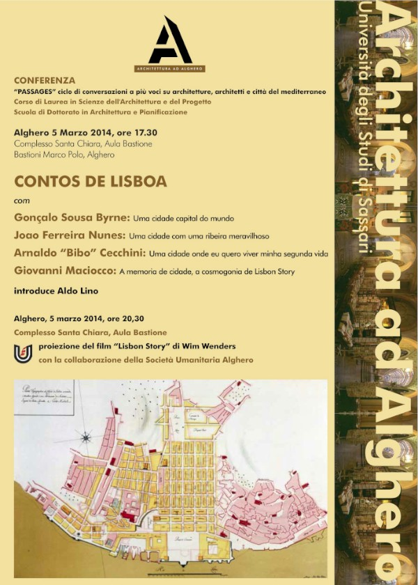 locandina Lisbona Alghero