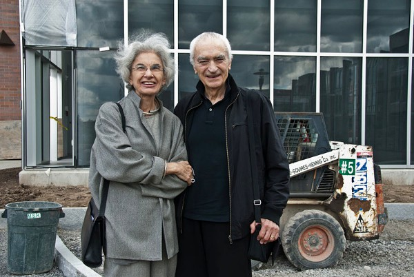 Lella e Massimo Vignelli 2010 imagecredits Arwcheek CC PD