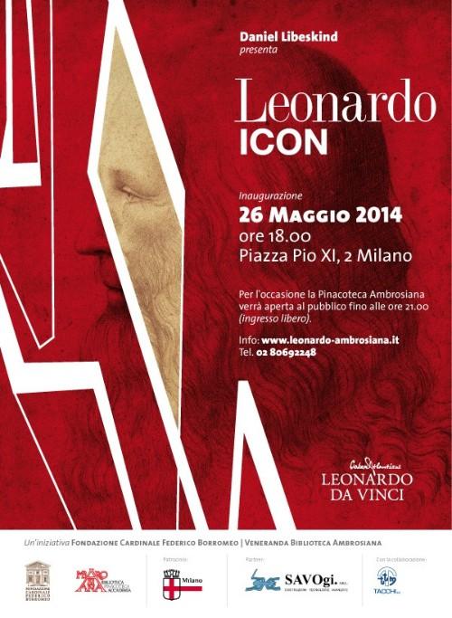 Libeskind Leonardo Icon - invito imagecredits leonardo-ambrosiana.it