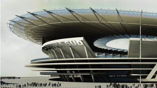 Dan Meis nuovo stadio Roma imagecredits meisarchitects.com