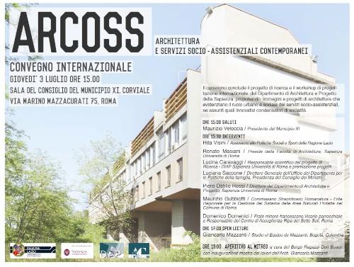 convegno ARCOSS Roma programma imagecredits architettura.uniroma1.it