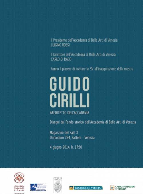 invito mostra Cirilli Venezia imagecredits accademiavenezia.it
