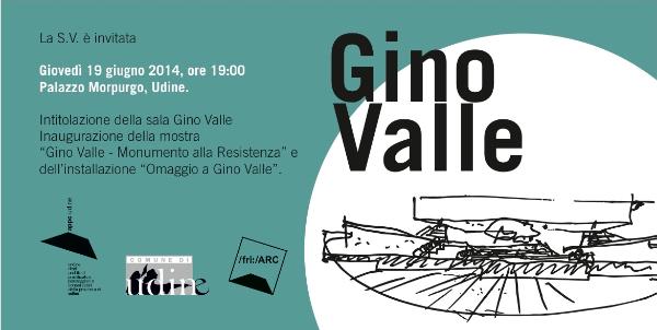 invito mostra Gino Valle Udine 2014