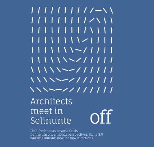 logo ufficiale Architects meet in Selinunte_OFF imagecredits presstletter.com