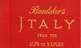 Baedeker Italy, from the Alps to Naples 1904 imagecredits CC PD copia