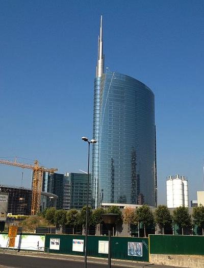 César Pelli torre Unicredit Milano imagecredits Kokky92 CC BY-SA 3.0