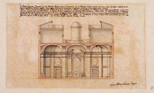 Lorenzo Possenti progetto per S. Andrea a Gallicano imagecredits museodiroma.it