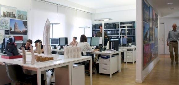 Studio Libeskind Milan Office imagecredits daniel-libeskind.com