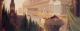 Thomas Cole The dream of the architect 1840 dettaglio imagecredits CC PD