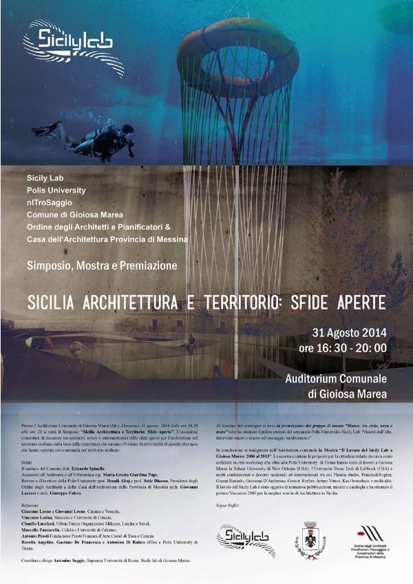 poster Simposio Sicilia Architettura e Territorio imagecredits nitrosaggio.net