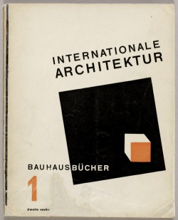 1 Walter Gropius Internationale Architektur 1925