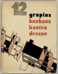 12 Walter Gropius, Bauhausbauten Dessau, 1930