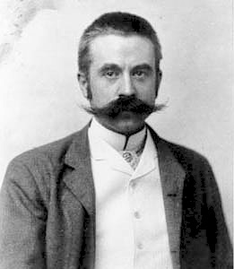 Stanford White ca. 1892 photograph by George Cox imagecredits CC PD