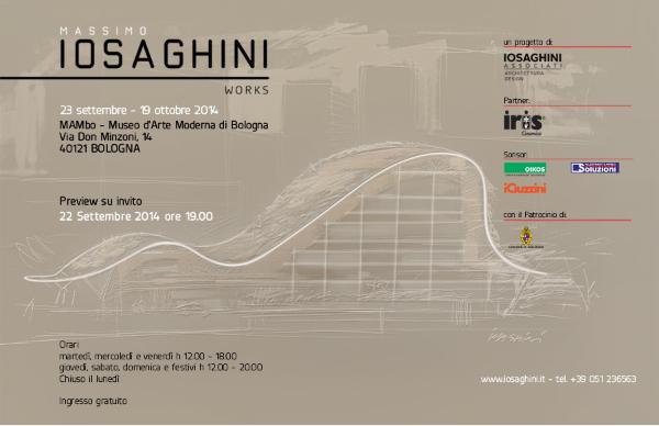invito mostra Massimo Iosa Ghini  Works