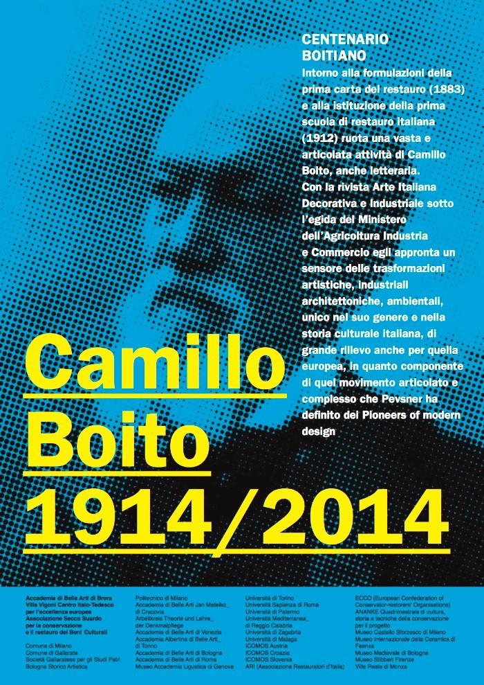 camillo boito poster imahecredits accademiadibrera.milano.it