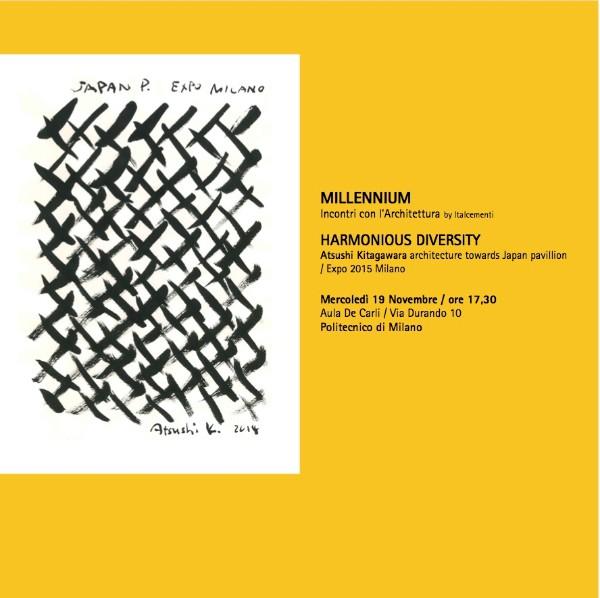 dall'invito alla conferenza Atsushi Kitagawara Milano imagecredits polimi.it
